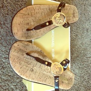 Michael Kors MK Charm Sandal